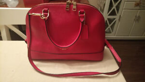 Coach Shell Pebbled Leather Sachel