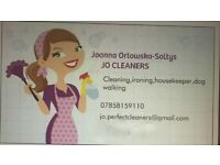 Cleaning, ironing, housekeeping