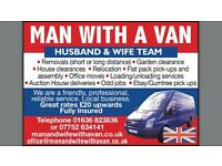 MAN WITH VAN, REMOVALS, ALL JOBS CONSIDERED. GARDEN CLEARANCE, HEDGE CUTTING,FROM £20