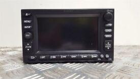 2000-2006 Honda Civic Sat Nav CD Radio Stereo Navigation Unit 39541-S6A-E010-M1, OEM, HEADUNIT