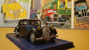 voiture tintin # 22 citroen 1952