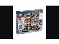 Lego pet shop 10218 new and sealed