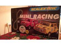 Scalextric racing set