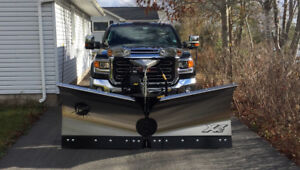 2017 GMC 2500 DURAMAX DIESEL AND 8 1/2 FT FISHER XV2 PLOW