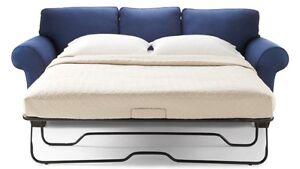 Spécial Sofa-lit avec matelas, tissu ou cuir à seulement 490 $