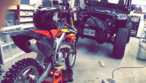 2005 HONDA CRF450R FOR SALE