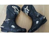 Alpinestars S-MX Boots size 9 UK