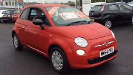 2014 Fiat 500 1.2 Pop (Start Stop) Manual Petrol Hatchback