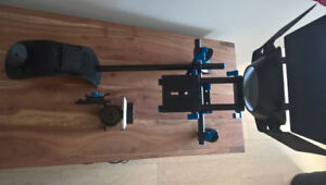 Professional Shoulder Support Rig for DSLR with follow focus