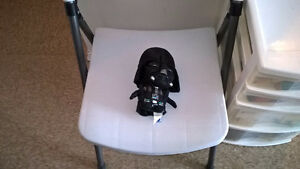 "9"" tall stuffed Darth Vader"
