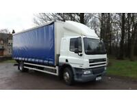 2012 DAF Trucks CF65.220 18 tonne 26ft Curtain Sleeper Cab