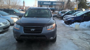 2009 Hyundai Santa Fe SUV Automatic Leather Sunroof Warranty