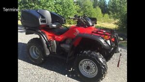 Honda fourtrax 4x4!!! Le plus clean!!!!