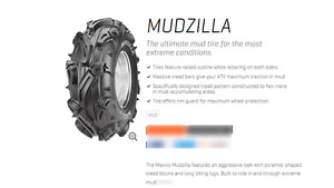 MAXXIS MUDZILLA 26X12-12 TWO ONLY - BLOW OUT PRICE $159.95 EACH
