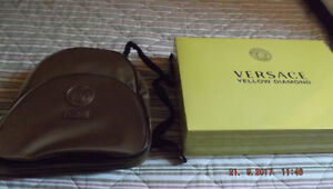 VERSSAGE PERFUME AND BEAUTIFUL GOLDEN BAG