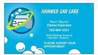 HANMER CAR CARE AUTO DETAILING