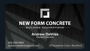 Concrete Company with 13+ years experience! Cambridge Kitchener Area image 1