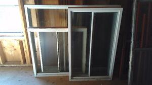 Fenêtres en aluminium et coulissantes doubles