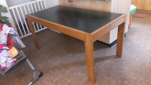 SOILD WOOD Craft table / play table / Project table