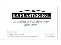 KA Plastering ltd