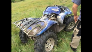 WANTED YAMAHA GRIZZLY SMASHED UP OR NOT RUNNING
