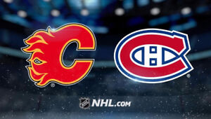 Calgary Flames vs Montreal Canadiens - Dec 22nd