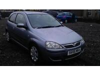 Vauxhall Corsa 1.2i 16v SXi 3 DOOR - 2005 55-REG - 11 MONTHS MOT