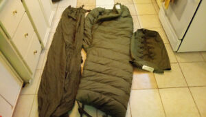 Canadian army sleeping bag for extreme cold.