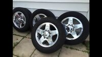 "20"" Silverado HD rims and tires"