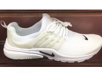 Nike prestos all white New size 7.5 boxed
