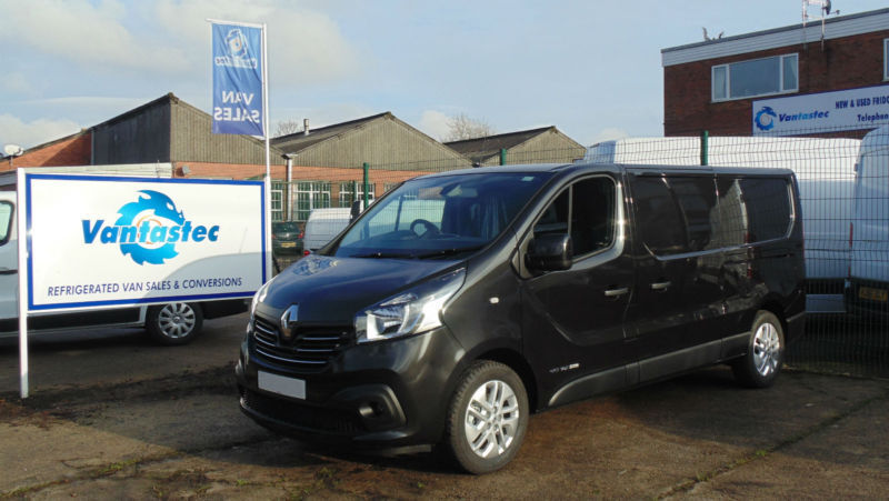 8e613d3473 Renault Trafic 1.6dCi LL29 120ps Sport with Rear Camera
