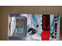 Sports camera £ 25 just need as card