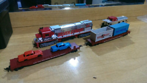 Huge HO scale electric train collection