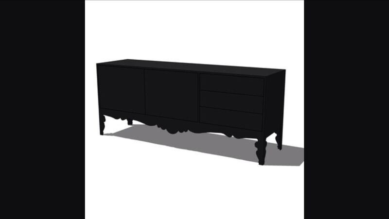 Credenza Trollsta Ikea : Ikea trollsta credenza or dresser apartment therapy marketplace