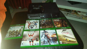 Xbox One + 1 manette + 7 jeux