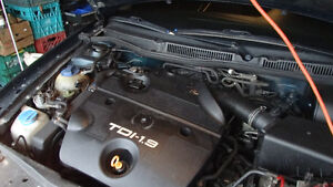 Parting out 2002 Jetta 1.9 Diesel engine