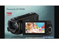 BRAND NEW PANASONIC HC-W580 TWIN CAMERA FULL HD 1080P WIRELESS MULTI CAMERA WIFI