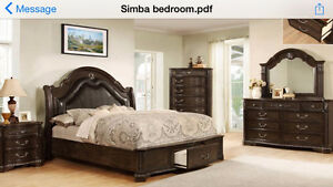 AMAZING 5 PIECE QUEEN BEDROOM SUITE FOR ONLY $2599. !!HURRY UP!!
