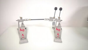 PEDAL DOUBLE AXIS DRUM BATTERIE PERCUSSIONS