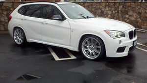 Lease Takeover! 2014 BMW X1 M Sport Mineral White