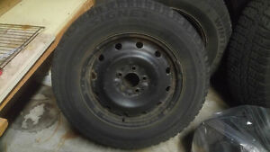 215/70/R16 rim and tire $150.00 if ad is still up its available!
