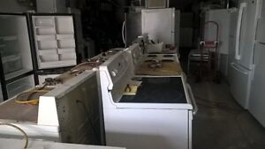 appliances..reconditioned with warranty