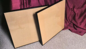 "2 IKEA "" RESLIG"" 20X20 inch picture frames"