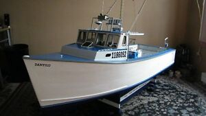 GIANT RC TUNA BOAT WILL TRADE FOR A NEW  LOSI 5IVE-T