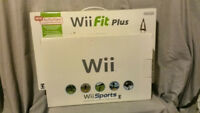 Wii console & WII Fit board