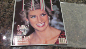 Fame Magazine.  Princess Diana:  Royal Problems? 1989