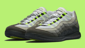 Brand new NikeCourt Vapor RF x Air Max 95 men's tennis shoe