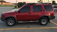 2003 Nissan Xterra 4x4 suv  Good shape and reliable