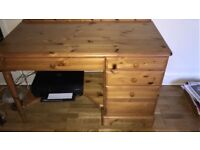 Ducal desk with chair
