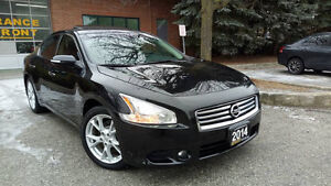2014 Nissan Maxima 3.5 SV,Leather,SunRoof,BackUp Cam+Push Start